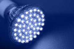 Led Light. Close up diode lamp Stock Photo