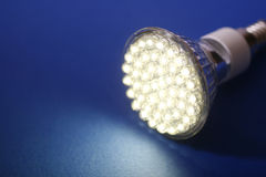 Led Light. Close up diode lamp Stock Image