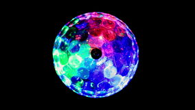 LED Light ball stock footage
