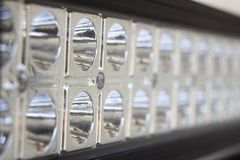 LED Light Bar Macro Royalty Free Stock Image