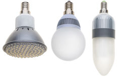 LED light bulb Royalty Free Stock Photos