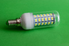 Led light bulb,clean energy concept, environment, Stock Images