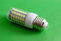 Led light bulb,clean energy concept, environment, Royalty Free Stock Photos