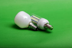 Led light bulb,clean energy concept, environment, Stock Image