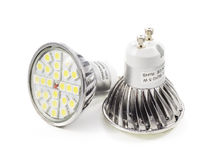 LED light bulb close up Stock Image