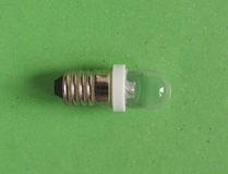 LED Light Bulb. A LED Light Emitting Diod lamp bulb Royalty Free Stock Images
