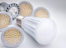 LED light bulb. Energy saving LED light bulb Stock Photography