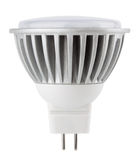 LED light bulb isolated on white Royalty Free Stock Images