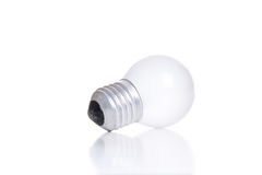 LED light bulb isolated on white Royalty Free Stock Images