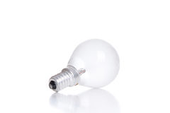 LED light bulb isolated on white Stock Photo