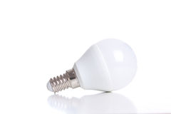 LED light bulb isolated on white Stock Image