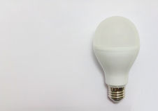 LED Light Bulb. Isolated on white background Stock Photography