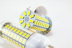 Led light bulb isolated on white background Stock Photos