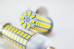 Led light bulb isolated on white background Royalty Free Stock Photos