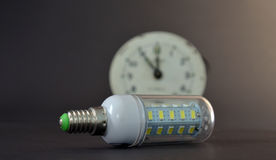 Led light bulb,new generation energy saving object Stock Photography