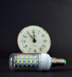 Led light bulb,new generation energy saving object Stock Image