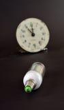 Led light bulb,new generation energy saving object Royalty Free Stock Images