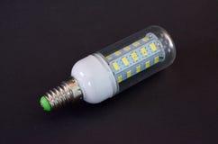Led light bulb,new generation energy saving object. Picture of a led light bulb,new generation energy saving object Stock Image