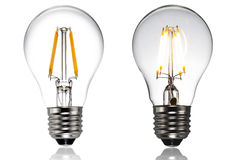 Led light bulb royalty free stock image