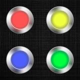 Led light bulb set. Vector illustration Stock Image