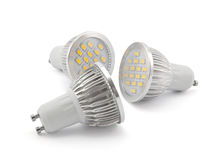 Led light bulbs Stock Photo
