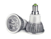 LED light bulbs Stock Photography