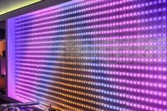 Led  light bulbs screen Royalty Free Stock Photo