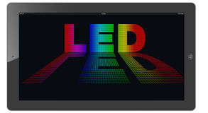 Led (Light-emitting diode) Stock Image