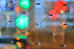Led light net Royalty Free Stock Photo