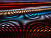 Led light Pattern Gradient colorful abstract background Royalty Free Stock Images