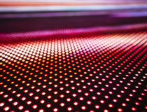 Led light Pattern technology abstract background Stock Image