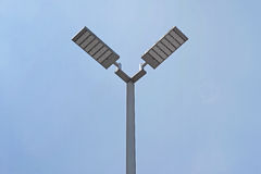 LED light post. With beautiful sky background Stock Image