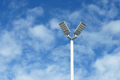 LED light post Royalty Free Stock Image