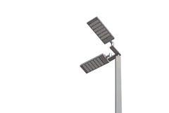 LED light post. Isolated on white background Stock Images