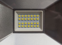 LED Light projector. A LED Light Emitting Diod lamp projector Royalty Free Stock Image