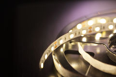 Led light strip Stock Image