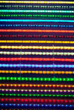 Led light stripes Royalty Free Stock Image