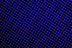 LED light stripes Royalty Free Stock Photography