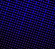 LED light stripes Stock Images