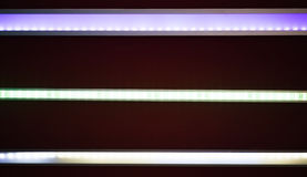 Led light tape. Photo of led light tape Stock Photography