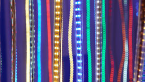 Led lighting belt Stock Photography