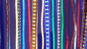 Led lighting belt Stock Photography