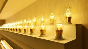 Led lighting bulb   Royalty Free Stock Photos