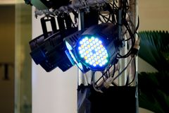 LED lighting equipment Stock Images