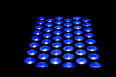 LED lighting equipment stage professional lighting Stock Photos