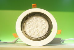 LED lighting lamp Stock Images