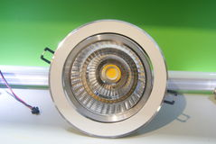 LED lighting lamp Stock Photo