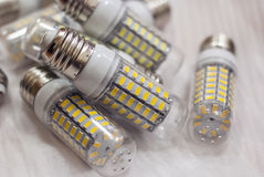 LED lighting lamps Stock Photography