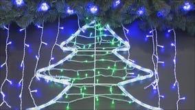 led lights απόθεμα βίντεο