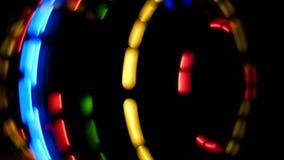 Led lights stock video footage
